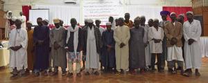 Men from Shaykh Abdullah's Balanta tribe in Guinea-Bissau
