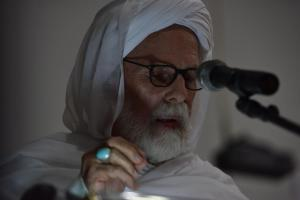 Dr. Umar Faruq Abd-Allah delivering his speech at the conference