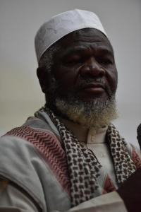 Shaykh Abdallah from Guinea-Bissau delivering his speech at the conference